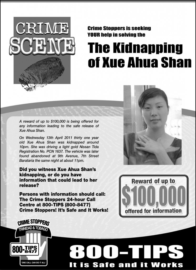 Find my Kidnapper: Xue Ahua Shan