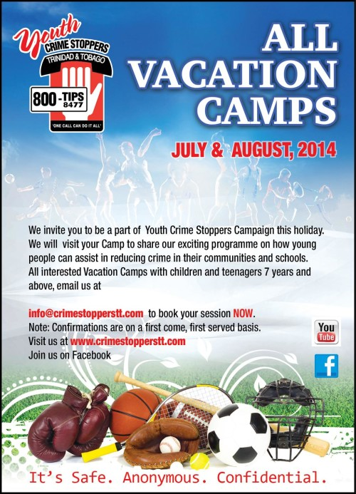 Youth Crime Stoppers_Summer Camp 2014 Resized
